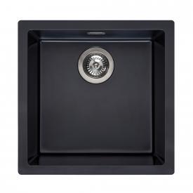 Reginox Amsterdam 40 Küchenspüle schwarz