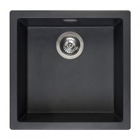 Reginox Amsterdam 40 Küchenspüle schwarz metallic