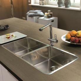 Reginox Ohio Küchenspüle mit Doppelbecken