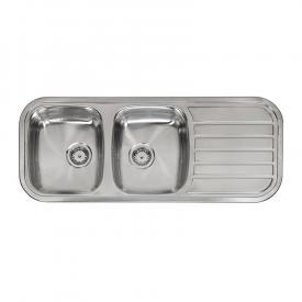 Reginox Regent 30 Lux Küchenspüle mit Doppelbecken