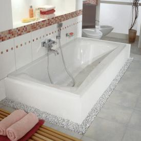 Repabad Arosa Rechteck-Badewanne weiß