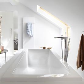 Repabad Genf Mono Rechteck-Badewanne weiß