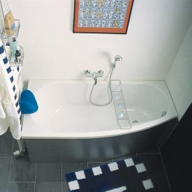 Repabad Kampen Raumspar-Badewanne, Einbau weiß