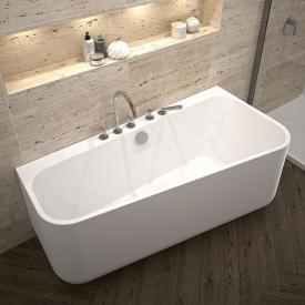 Repabad Seed F Raumspar-Badewanne mit Verkleidung weiß, ohne Füllfunktion