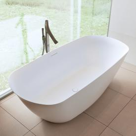 Riho Bilo Freistehende Oval-Badewanne