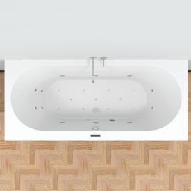 Riho Carolina Easypool Rechteck-Whirlwanne, Einbau, mit elektronischer Bedienung