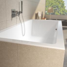 Riho Lugo Rechteck-Badewanne, Einbau weiß