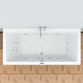 Riho Lusso Easypool Rechteck-Whirlwanne, Einbau, mit elektronischer Bedienung