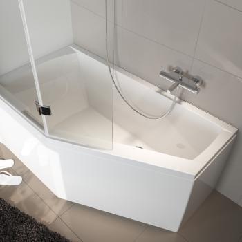Riho Geta Raumspar Badewanne, Ausführung rechts