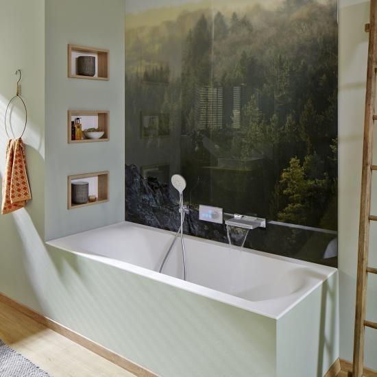Fugenloses Bad: 5 Ideen mit & ohne Wandfliesen - Emero Life