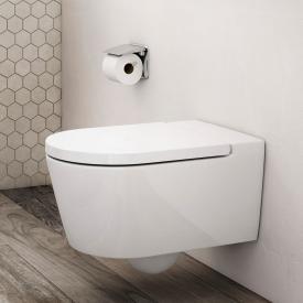 Roca Inspira Wand-Tiefspül-WC round mit WC-Sitz weiß