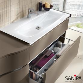 Sanipa CantoBay Glas-Waschtisch