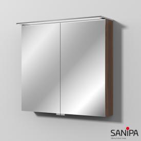 Sanipa Reflection Spiegelschrank mit LED-Beleuchtung kirsche natural touch