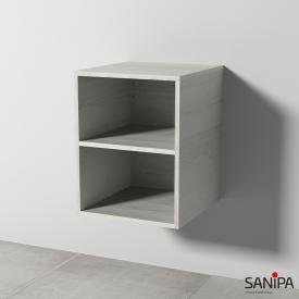 Sanipa Solo One Euphoria/Harmonia Anbauregal linde hell