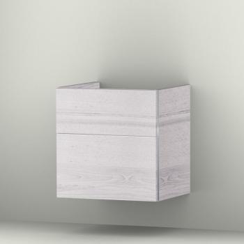 Sanipa 3way Waschtischunterschrank mit 2 Auszügen für Starck 3 Front linde hell/ Korpus linde hell