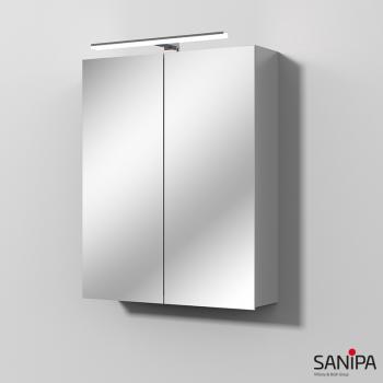 Sanipa Solo One Spiegelschrank mit LED-Beleuchtung