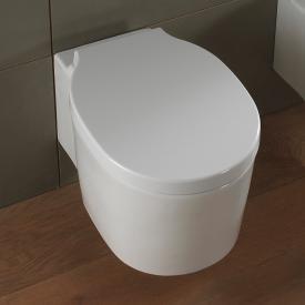 Scarabeo Bucket Wand-Tiefspül-WC ohne Spülrand, weiß, mit BIO System Beschichtung