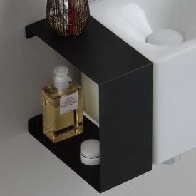 Scarabeo Fold Hängeschrank mit seitlicher Öffnung schwarz matt