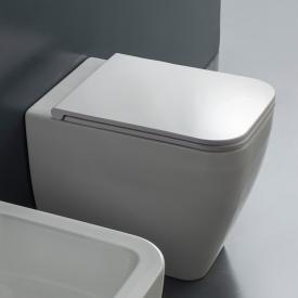 Scarabeo Next Stand-Tiefspül-WC weiß, mit BIO System Beschichtung