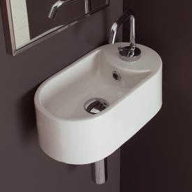 Scarabeo Seventy Hängewaschbecken weiß, mit BIO System Beschichtung