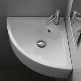 Scarabeo Square E Eck-Aufsatz- oder Hängewaschbecken weiß