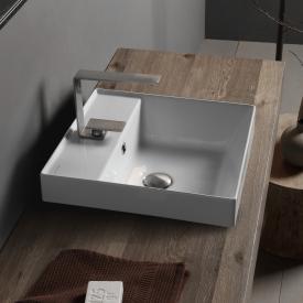Scarabeo Teorema 2.0 Einbauwaschbecken weiß, mit BIO System Beschichtung