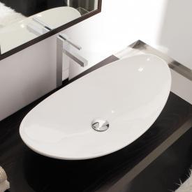 Scarabeo Zefiro Aufsatzwaschbecken weiß, mit BIO System Beschichtung