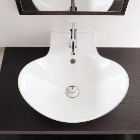 Scarabeo Zefiro R Aufsatz- oder Hängewaschbecken weiß
