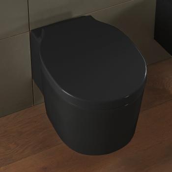 Scarabeo Bucket Wand-Tiefspül-WC, ohne Spülrand schwarz