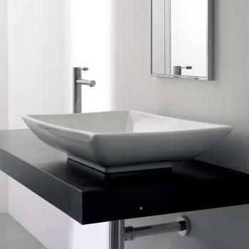 Scarabeo Kylis Aufsatzwaschbecken weiß