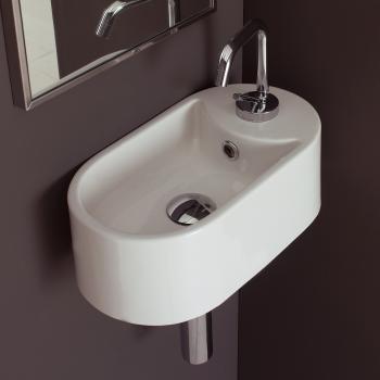 Scarabeo Seventy Hängewaschbecken weiß
