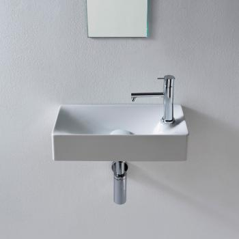 Scarabeo Soft Aufsatz- oder Hängewaschbecken weiß