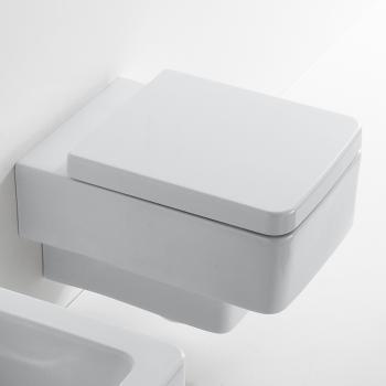 Scarabeo Teorema Wand-Tiefspül-WC weiß, mit BIO System
