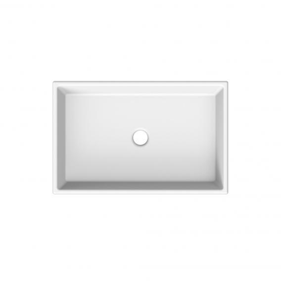 Scarabeo Teorema Aufsatzwaschtisch weiß, mit BIO System Beschichtung