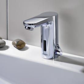 Schell CELIS E Elektronische Waschtisch-Armatur HD-M, Netzbetrieb mit Unterputz-Netzteil ohne Ablaufgarnitur