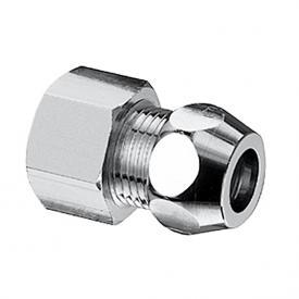 Schell Gerade-Verschraubung mit Innengewinde für Kupferrohr Ø 10 mm 1/2