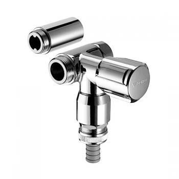 Schell Nebenanschlussventil COMFORT, für Wandbatterien, Anschluss rechts, DVGW zertifiziert