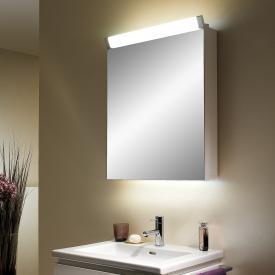 Schneider PALILINE Spiegelschrank, mit 1 Tür silber eloxiert