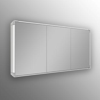 Schneider A-LINE Spiegelschrank mit LED-Beleuchtung mit 3 gleichgroßen Türen