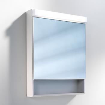 Schneider LOWLINE Spiegelschrank, mit 1 Tür, mit offenem Fach