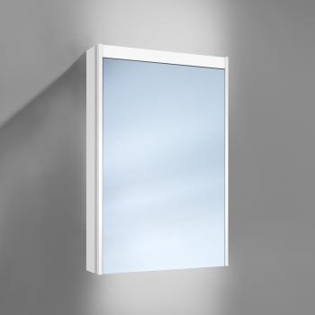 Schneider O-Line Aufputz Spiegelschrank mit LED-Beleuchtung + Waschtischbeleuchtung