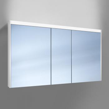 Schneider O-Line Auf- & Unterputz Spiegelschrank mit LED-Beleuchtung, 3-türig