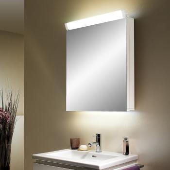Schneider PALILINE Spiegelschrank, mit 1 Tür, mit Beleuchtung weiß