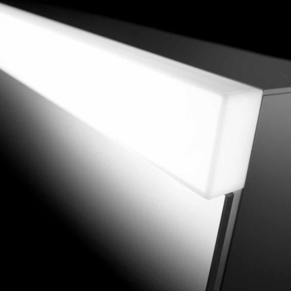 Schneider DAILYLINE Ultimate Spiegelschrank mit LED-Beleuchtung mit 2 Türen Steckdose rechts