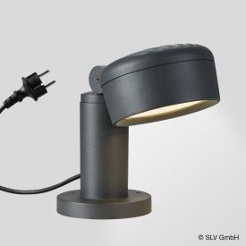 SLV ESKINA 30/80 LED Sockelleuchte mit CCT
