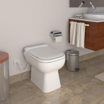 SFA Sanicompact ® Luxe WC mit integrierter Hebeanlage pergamon