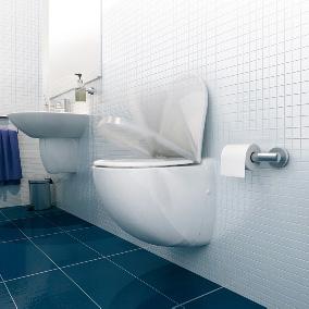 SFA Sanibroy Sanicompact WC mit integrierter Hebeanlage weiß