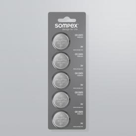 Sompex CR2025 Knopfbatterie für Fernbedienung 49990