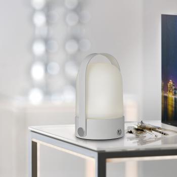 Sompex Soft Akku LED Tischleuchte mit Dimmer