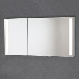 Sprinz Silver-Line Aufputz Spiegelschrank Modell-Nr. 03 Korpus aluminium matt, ohne Hintergrundbeleuchtung